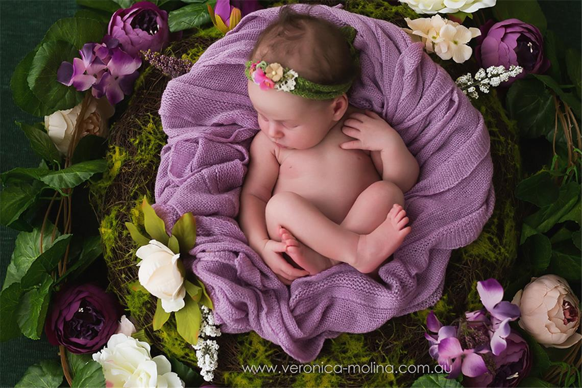 Newborn baby photographer Brisbane - Photo 1