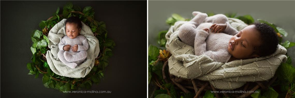 Newborn baby photographer Brisbane - Photo 2