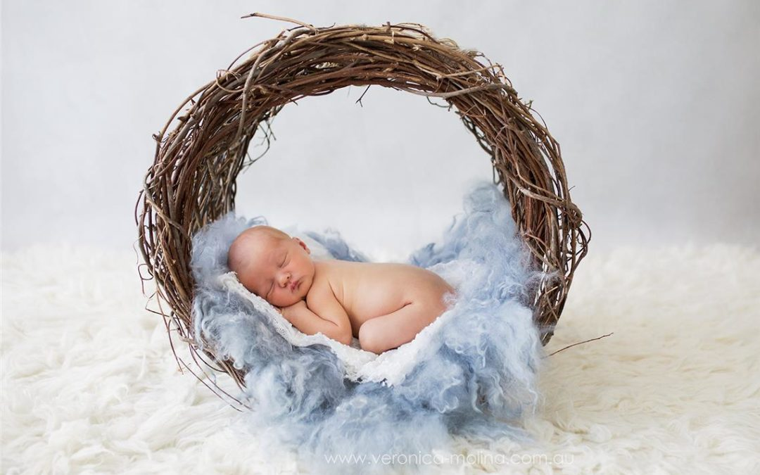 Newborn Photographer Brisbane | Gorgeous baby boy.