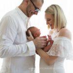 newborn photography session family photos